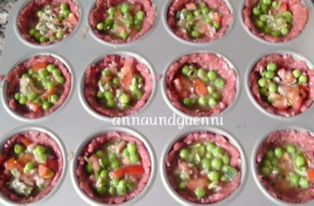 gefüllte Hack-Muffins - Rezept - Bild Nr. 4