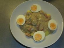 Tellergerichte: Eier-Kräuter-Ragout - Rezept
