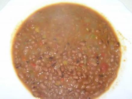 Rote Bohnen mit Gemüse - Rezept