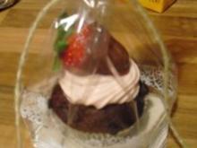 Erdbeer Cupcakes - Rezept