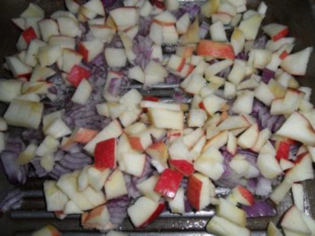 Zucchinsüppchen mit Apfel-Zwiebel-Schmelz - Rezept - Bild Nr. 11