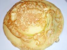 Snack: Apfelpfannkuchen mit Calvados - Rezept