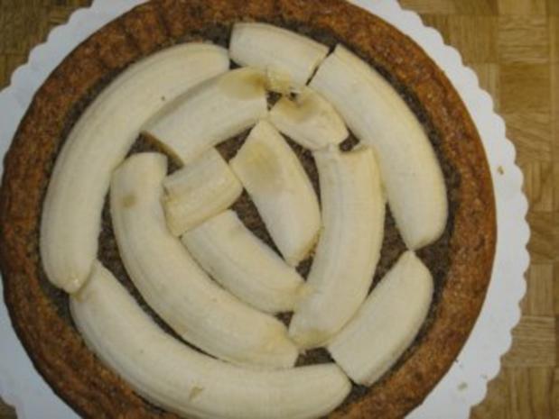Bananen- Split- Torte mit Eierlikör - Rezept - Bild Nr. 14