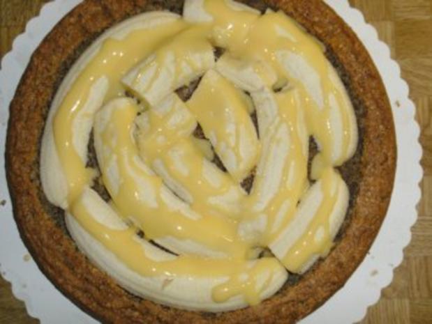 Bananen- Split- Torte mit Eierlikör - Rezept - Bild Nr. 15
