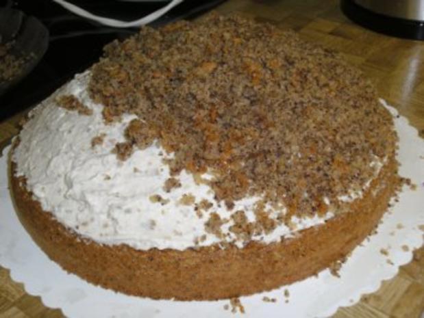 Bananen- Split- Torte mit Eierlikör - Rezept - Bild Nr. 16
