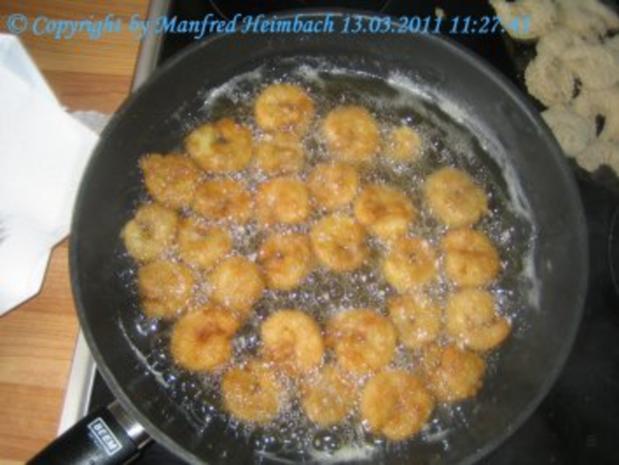 Shrimps – frittierte Shrimps in Bierteig a'la Manfred - Rezept - Bild Nr. 3