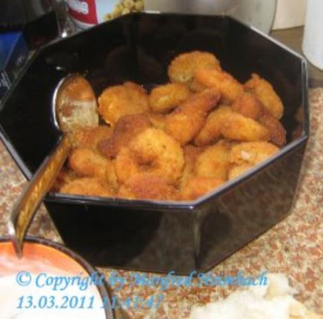 Shrimps – frittierte Shrimps in Bierteig a'la Manfred - Rezept