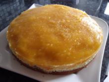 Pfirsich-Donauwellen-Torte - Rezept