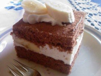 Backen: Bananen-Schnitten - Rezept