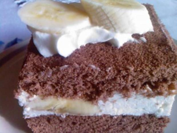 Backen: Bananen-Schnitten - Rezept - Bild Nr. 3