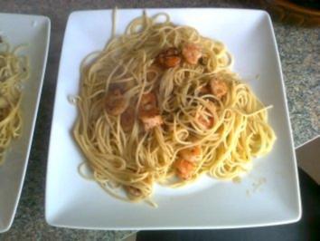 Pasta Scampi - Rezept