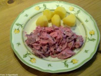 Roter Heringssalat - Rezept
