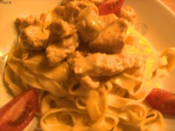 Geflügel/ Wild: Putengulasch mit Curry - Rezept