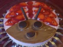 Glückskäfer -  Erdbeer-Mascarpone-Torte... - Rezept