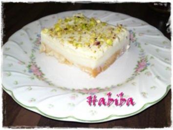 Zwieback-Creme Dessert (Aysch Alssarayah) - Rezept
