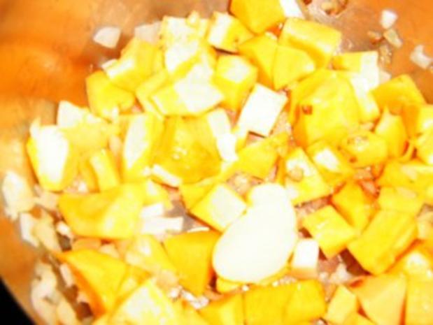 Pastinaken-Butternut-Apfelsuppe - Rezept - Bild Nr. 5
