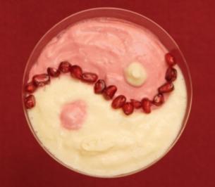 Rezept: Buddhas Traum: Zweierlei Fruchtcremes (Antonia Langsdorf)