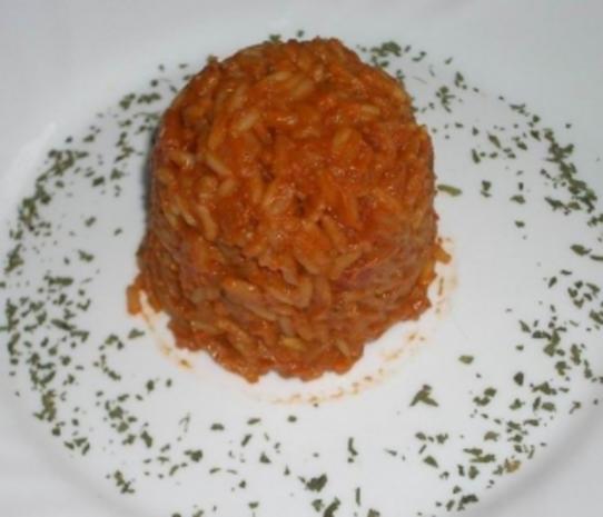 Griechischer Tomatenreis - Rezept