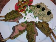 Kartoffel-Oliven-Püree  z.B. als Beilage zu meinem Lammrack - Rezept