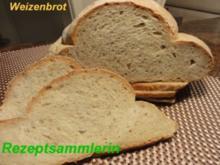 Brot:  WEIZENBROT...... Schweizer Art - Rezept