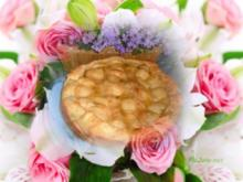 Kuchen : Blätterteig - Birnenkuchen - Rezept