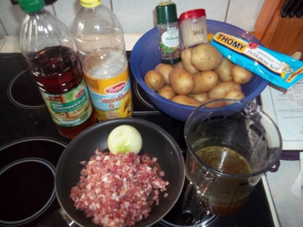 Schwäbischer- Kartoffelsalat - Rezept - Bild Nr. 2