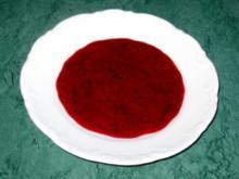 Dessert/Sauce - Schnelle Fruchtsoße - Rezept