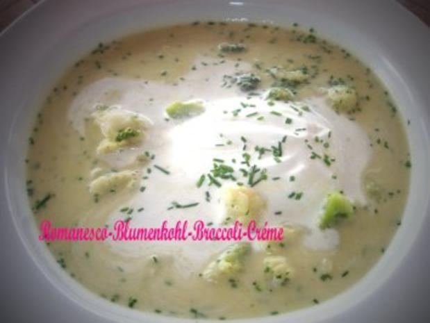 Romanesco - Blumenkohl - Broccoli - Créme - Rezept