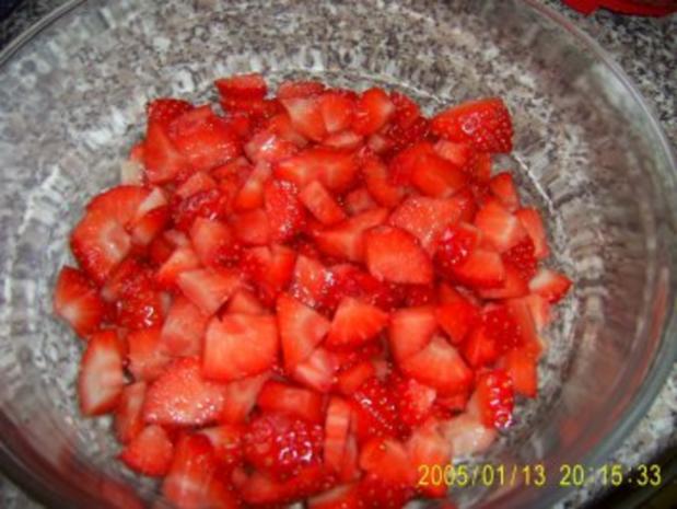 Mascarpone-Creme mit Erdbeeren - Rezept - Bild Nr. 3