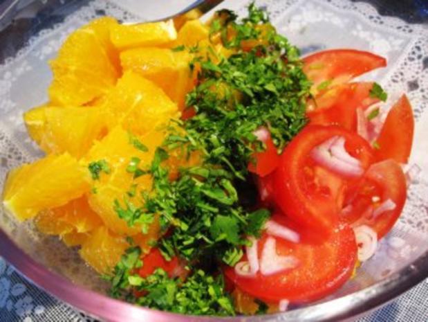 Tomaten-Orangen-Salat  ... - Rezept - Bild Nr. 6