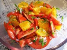 Tomaten-Orangen-Salat  ... - Rezept