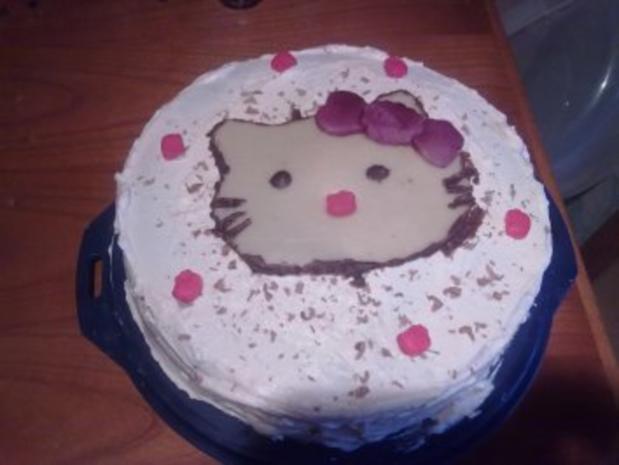 Hello Kitty Torte - Rezept