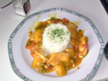 Rezept: Hähnchenbrustfilet in Mangososse