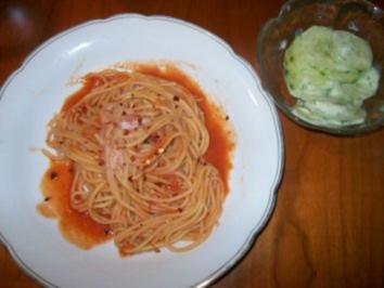 Spaghetti Mafiosi - Rezept