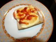 Salami-Tomaten-Toast - Rezept