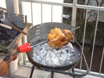 Grillhähnchen zum Saisonauftakt - Rezept