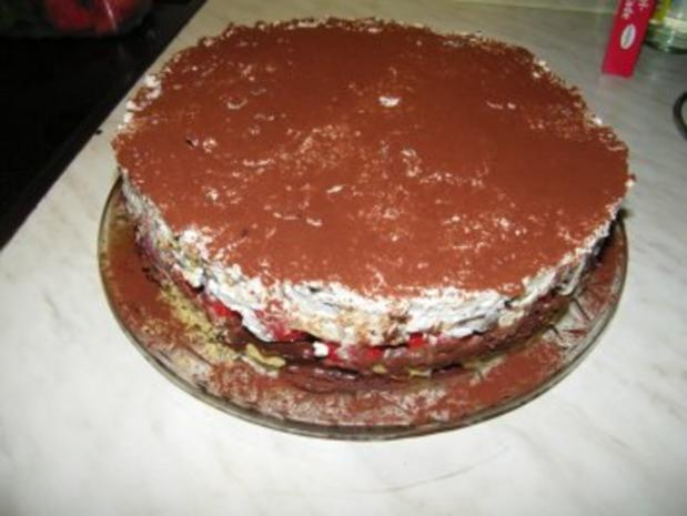 Erdbeer Stracciatella Torte Rezept Mit Bild Kochbar De