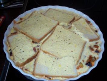 Auberginensauce überbacken - Rezept
