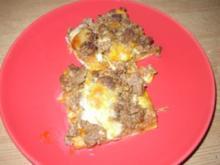 Meine Hackfleischpizza - Rezept