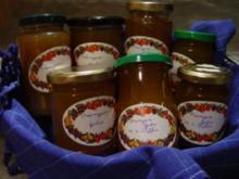 Orangengelee auf dreierlei Art - Rezept