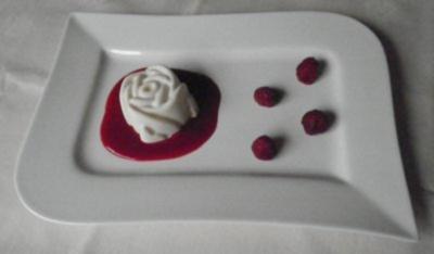 Weiße Rosen aus ... - Rezept