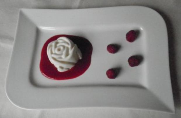 Weiße Rosen aus ... - Rezept - Bild Nr. 2