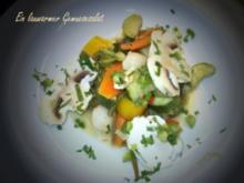 Lauwarmer Gemüse-Salat - Rezept
