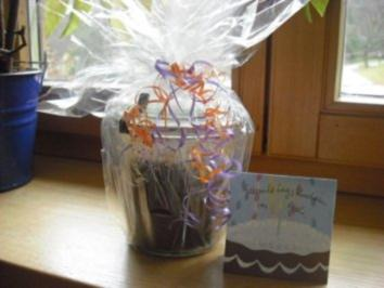 Geburtstagskuchen im Weckglas - Rezept