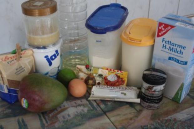 Muffins: Mango-Honig-Muffins - Rezept - Bild Nr. 2