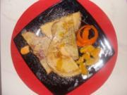 Nachtisch : Crepes Naranja - Rezept