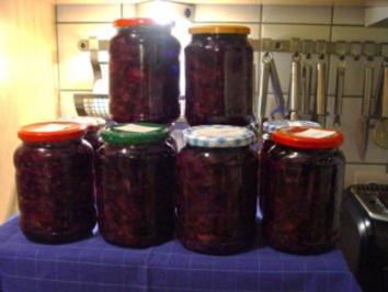 Rezept: Rotkohl (eingekocht)