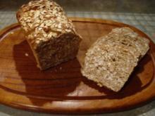 Weizen-Haferflocken-Brot - Rezept