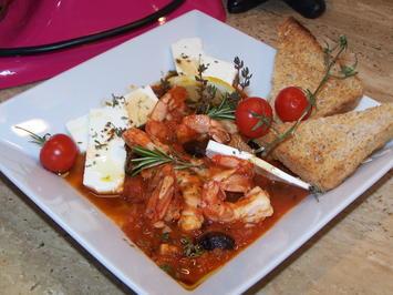 Fischtopf mit Tomaten und Oliven - Rezept - Bild Nr. 10048