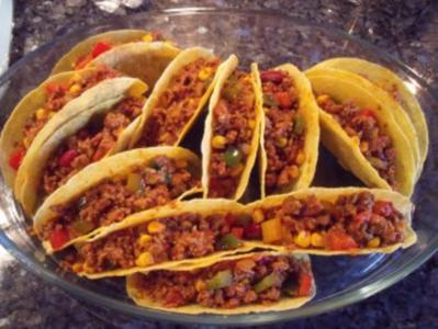 Überbackene Tacos - Rezept